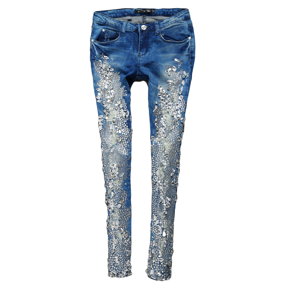 Online Buy Wholesale silver jeans from China silver jeans ...