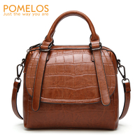 POMELOS Bags For Women 2018 Ladies Hand Bags Alligator Pattern Purses And Handbags Shoulder Crossbody Bags For Women Designer