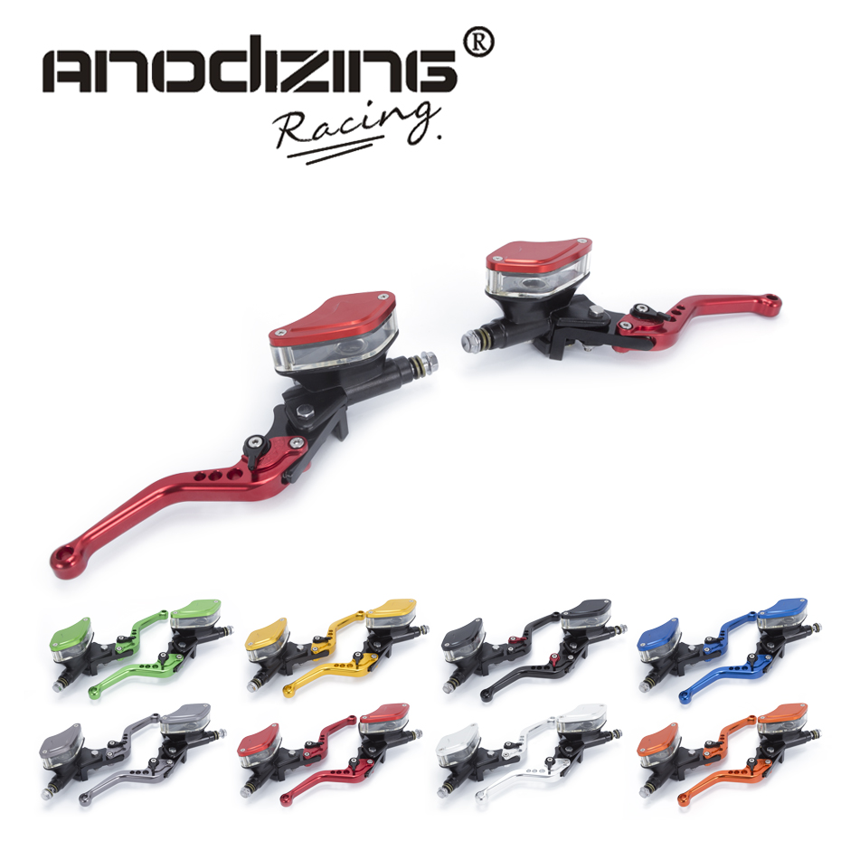 FREE SHIPPING Motorcycle Master Cylinder Reservoir Hydraulic Brake Clutch Lever FOR YAMAHA R3