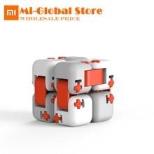 Original xiaomi mitu Cubes 스피너 핑거 브릭 인텔리전스 완구 Smart Fidget Magic Cubes 인피니티 완구 안티 스트레스 불안