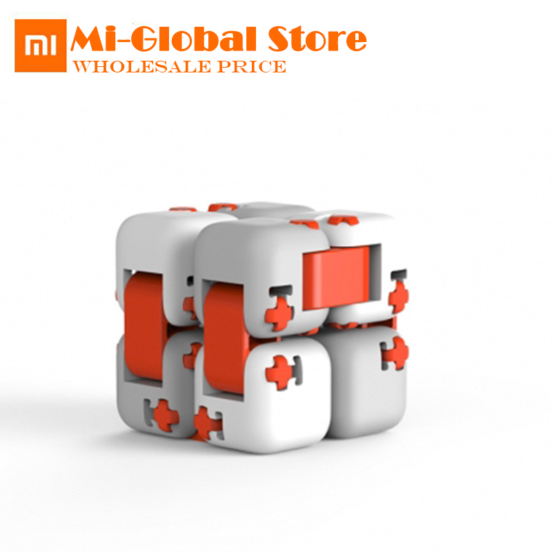 Original xiaomi mitu Cubes Spinner Finger Bricks Intelligence Toys Smart Fidget Magic Cubes Infinity Toys Anti Stress Anxiety цены онлайн