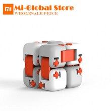 D'origine xiaomi mitu Cubes Spinner Doigt Briques Intelligence Jouets Smart Fidget Magique Cubes Infinity Jouets Anti-Stress L'anxiété(China)