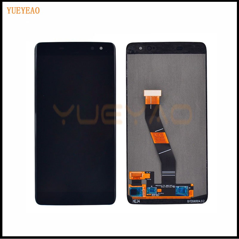 YUEYAO LCD Display Screen+Touch Digitizer For Blackberry DTEK60 DTEK 60 LCD Display Touch Screen Digitizer Assembly BlackYUEYAO LCD Display Screen+Touch Digitizer For Blackberry DTEK60 DTEK 60 LCD Display Touch Screen Digitizer Assembly Black