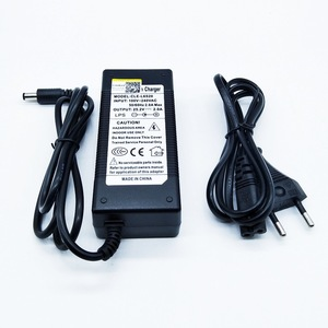 Image 1 - HK Liitokala 25.2 V 2 A CHARGER OF BATTERY CHARGER High quality charger 24 V 2 A dedicated charger for electric vehicles DE