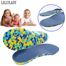 Children Orthotics Arch Support Corrected Insoles Full Length Orthopedic Pad Shoe Inserts for Flat Feet Sweat absorbent Insoles недорого