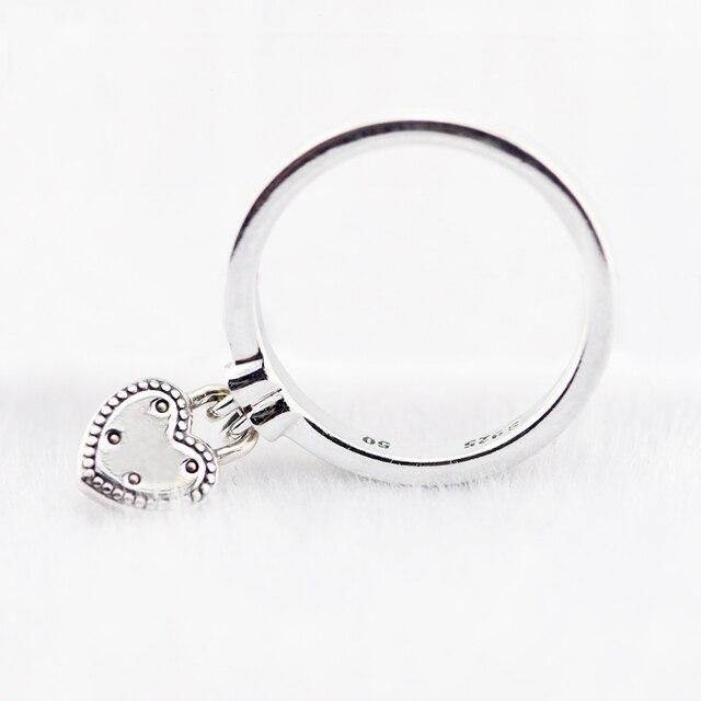 Anello Love Lock Anelli D'argento per le donne Anel masculino argento 925 gioielli uomini anelli 925 sterling silver wedding Ring