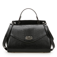 Genuine leather women bags cowhide 2014 fashion handbag causal women shoulder bags Crocodile women tote handbag 0493