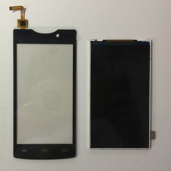 For Micromax D320 D 320 Front Glass Capacitive Sensor Touch Screen For Micromax Bolt D320 LCD Display