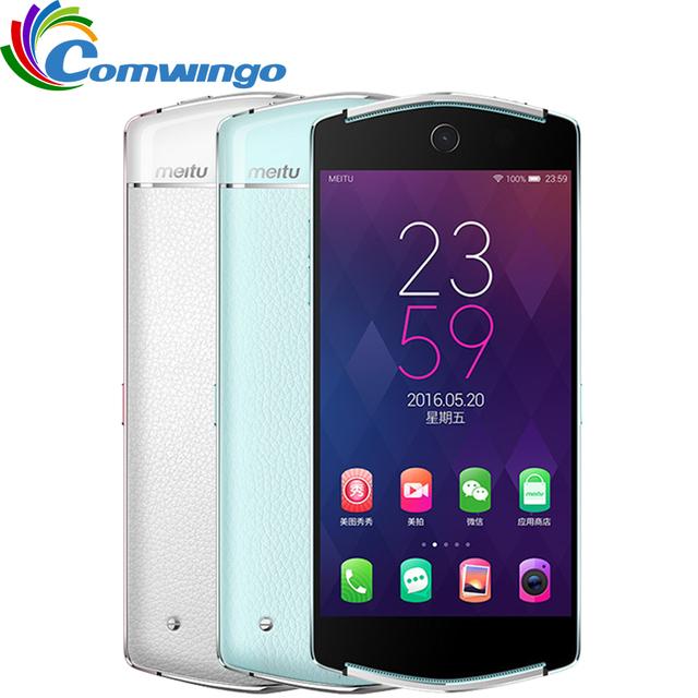 Nueva original meitu mito v4 v4 teléfono selfie mt6795 octa core 5.0 ''IPS + Pantalla OGS Dual 21.0MP 4G FDD-LTE 3 GB RAM 64 GB ROM 2650 mAh