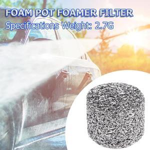 Image 3 - 1 adet paslanmaz çelik köpük aparatı yedek filtre parçaları yüksek kaliteli Lance örgü Tablet kar köpük jeneratörü araba aksesuarları