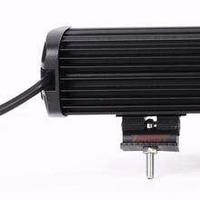 13 Inch 6D Lens 60W LED Single Row Light Bar For 4*4 Pickup Truck SUV Offroad Car 12V 24V