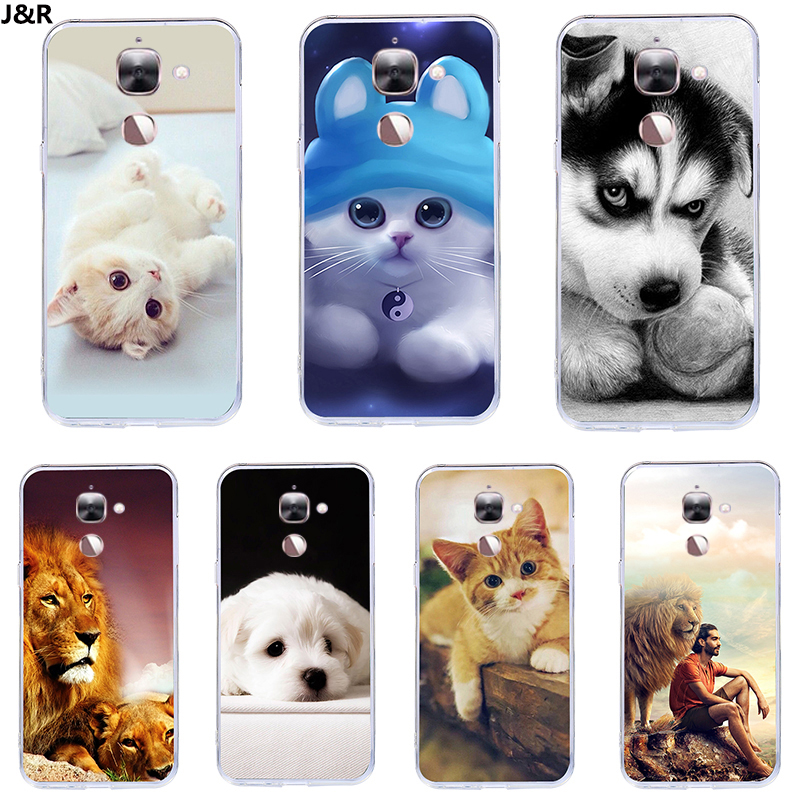 "J&R Cute Cartoon Animal Soft Silicone Case For Letv LeEco Le 2 Le2 Pro X526 X527 X625 5.5"" Back Cover For Leeco Le S3 X626 Cases"