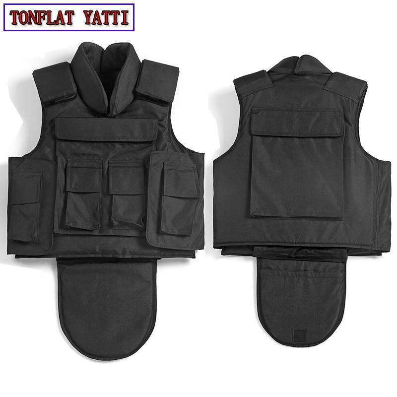 Bulletproof Vest Nij Iiia Level Tactical Vest Aramid Protect Life Safety Body Armor Real Military Protective Ak 47 Combat VEST