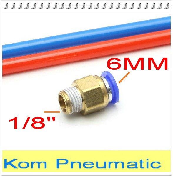 Pcs a lot pneumatic mm thread quot air straight hose