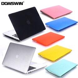 Dla MacBook Air 13 przypadku Pro Retina 12 13 15 kryształ etui na macbooka nowy Pro 13 15 z touch bar etui na macbooka sztywne etui w Torby i etui na laptopy od Komputer i biuro na