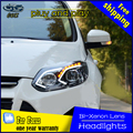 CDX Styling car Head Lamp para Foco 2012-2014 Faróis foco 3 LED DRL Farol Lente Feixe Duplo Bi-Xenon HID car acessórios