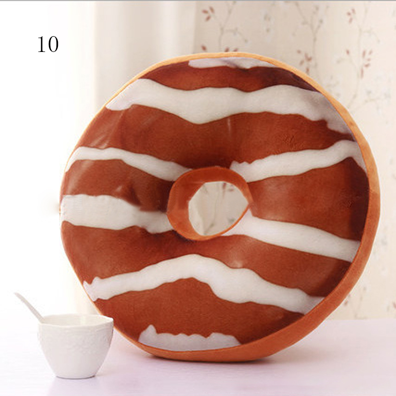 Chocolate Donuts Cushion And Soft Plush Pillow Car Seat Mats Cushion 18