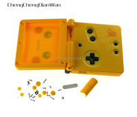 ChengChengDianWan 5sets For new Version Housing Shell Case Cover with screws buttons for Gameboy Advance SP for GBA SP