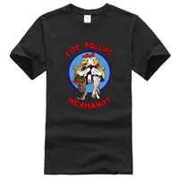 2019 camisetas de hombre LOS POLLOS Hermanos Breaking Bad famoso cool camiseta harajuku marca ropa camiseta hombres tops camisetas hip hop