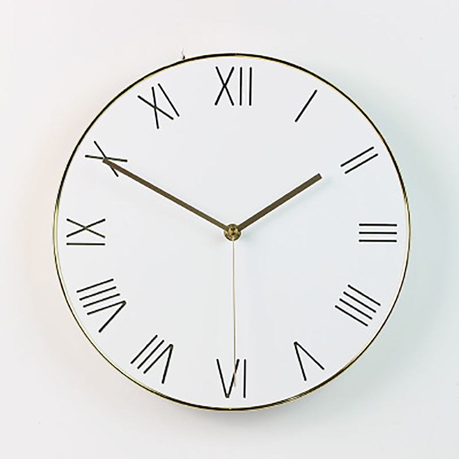 Minimalista Sala de estar relógio de Parede Relógio de Quartzo Relógio de Parede Única Casa De Madeira Casa Acessórios de Decoração Moderna Relógios Digitais Reloj - 3
