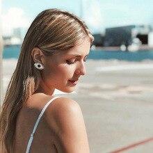 Black White Enamel Evil Eye Earrings for Women Big All-Seeing Stud Statement Jewelry Fashion Womens 2019