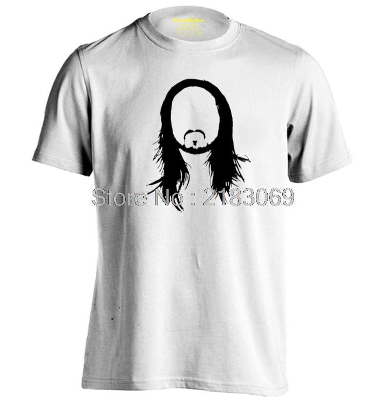 Steve Aoki Silhouette Mens & Womens High quality Tops Printing T Shirt