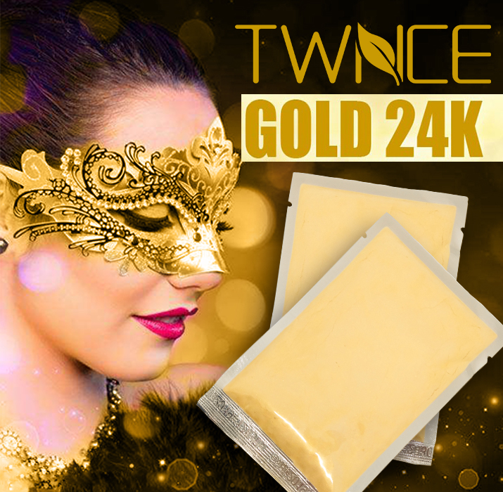 Luxury Spa Treatment Face Mask 24K Gold Collagen Powder Anti-Aging Anti-Wrinkle Moisturizing face care whitening skin care face