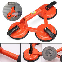 145kg Heavy Duty 3 Suction Cup Triple Pad Sucker Plate Glass Lifter Carrier Tool Home Accessories
