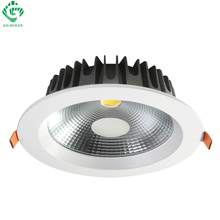 Downlights Downlight LED 7W 12W 20W 30W 40W 85-265V Dimmable LED Recessed COB Ceiling Down Lights Bathroom Kitchen Spot Lighting