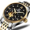 Япония MIYOTA автоматические часы для мужчин Швейцария карнавал бренд Роскошные мужские часы сапфир hombre relogio часы C7612-2