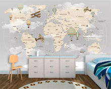 beibehang Custom size three-dimensional classic decorative painting 3d wallpaper fashion map background wall papers home decor