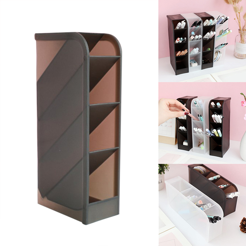 1pcs Stationery Storage Box 4 Layers Multifunctional Desktop Organizer For Home Office DJA99
