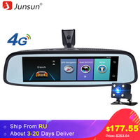 Junsun K755 Car Special Mirror DVR Camera 4G Android 7 86 ADAS Bluetooth Full HD 1080P