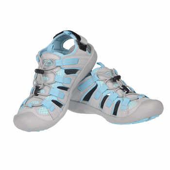 GRITION Sandals Women Outdoor Summer Adjustable Ladies Flat Beach Shoes Lightweight Casual Sandalias Walking Hiking 2019 New