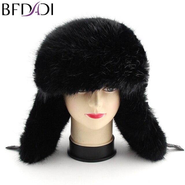 BFDADI 2018 nuevo deporte de los hombres del sombrero del invierno del  bombardero caliente sombreros Cap 0e56cfe013f8