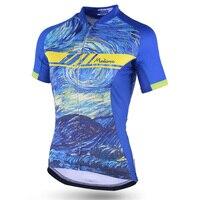 2019 Cycling jersey Womens Bike MTB Top Road Mountain racing shirt