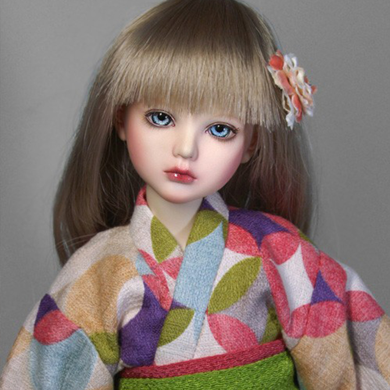 Hot Sale ai-doll Alice Kimono 1/4 bjd sd dolls resin dollhouse figures dolls stuffed toys soom lati luts fairyland dod
