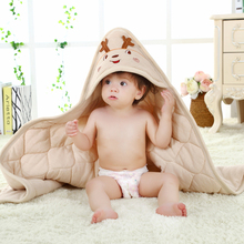 Colored Cotton Baby Blankets Spring And Autumn Thickening Baby Supplies Winter Newborn Swaddle 100*100 cm Cute Bedding