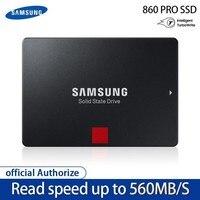 SAMSUNG SSD 860 PRO 256 ГБ 512 Внутренний твердотельный диск HD Жесткий диск SATA 3 2,5 HHD для ноутбука, настольного компьютера, ПК, 1 ТБ 2 ТБ 4 ТБ