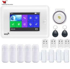 """Image 4 - Yobang Güvenlik 4.3 """"WiFi APP GSM Hırsız hırsız alarmı Wifi IP Kamera Koruma Ev Alarmı Güvenlik SMS Uyarısı SOS Panik alarm"""