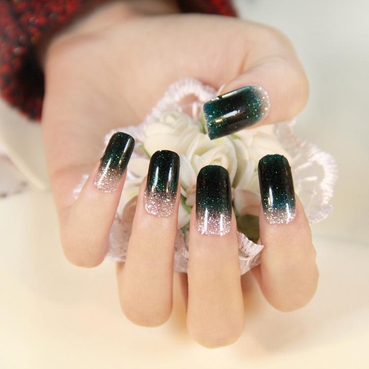 12 Colors Mix UV Gel Nail Art Glitter Dust Powder For UV GEL Acrylic ...