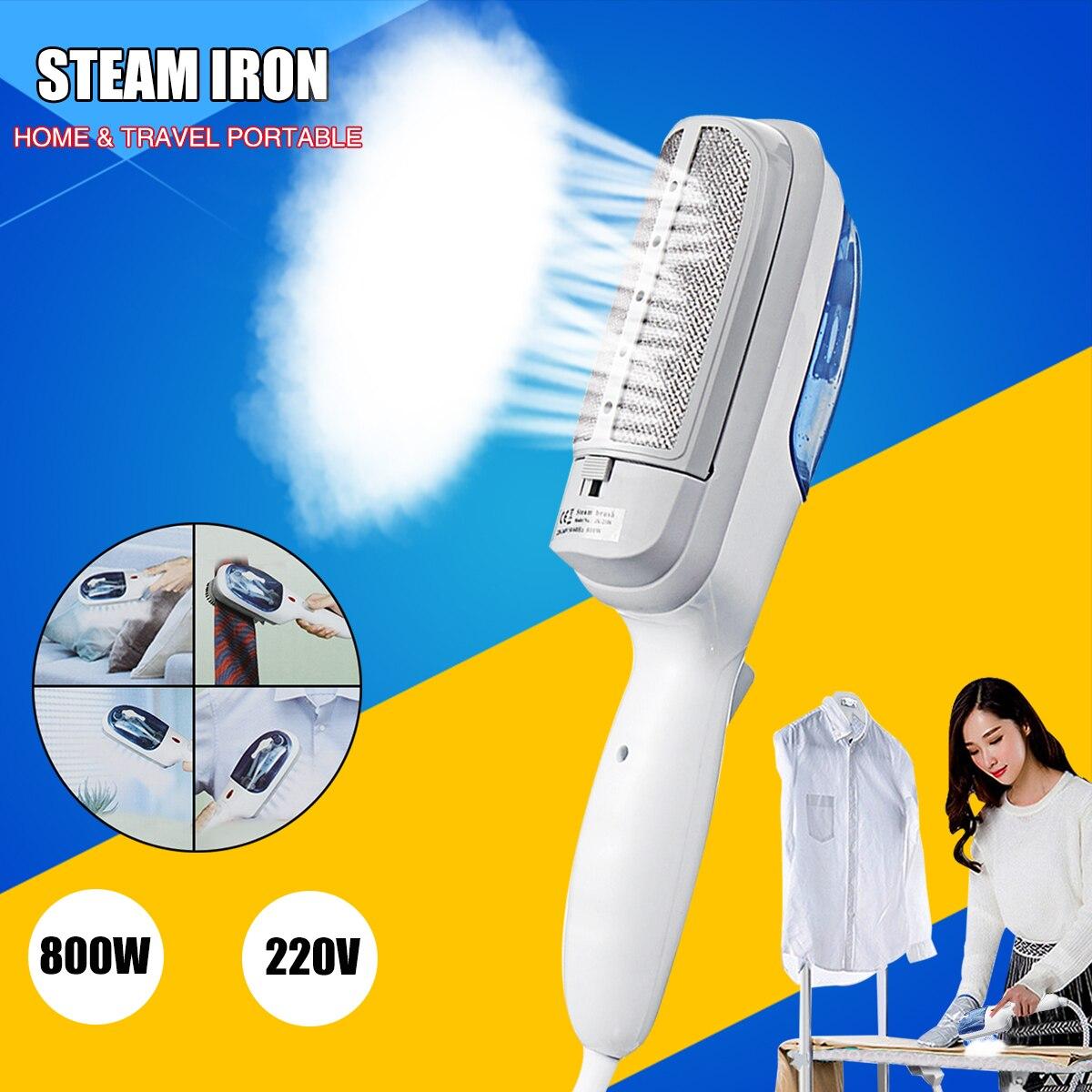 Warmtoo Portable Household Appliances 220V 800W Travel Handheld Iron Steamer Garment Steam Brush Hand Held for