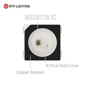 WS2812B LED رقاقة 10 ~ 1000 قطعة 5050 RGB SMD الأسود/الأبيض النسخة WS2812 بشكل فردي عنونة الرقمية 5 V