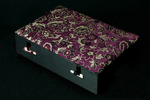 купить!  Бутик 6 сетка Шкатулка для драгоценностей Шелк Печатный Подвеска Коробки Нефритовый Агат Коробка