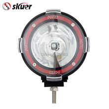skuer 55W 4 inch Off Road 6000K spotlight hid Xenon lamp Super bright off-road vehicle Spotlight Auxiliary Roof