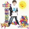 64 ШТ. Мини Магнитного строительные блоки Игрушки Для Детей Просветить Магнитных Блоков DIY Строительство Модели Творческие Кирпичи блок