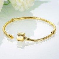 DIY Bracelets Accessories Fashion Gold Cable Wire Chain Bracelet 20cm PDRH028 Magnet 3MM Chain