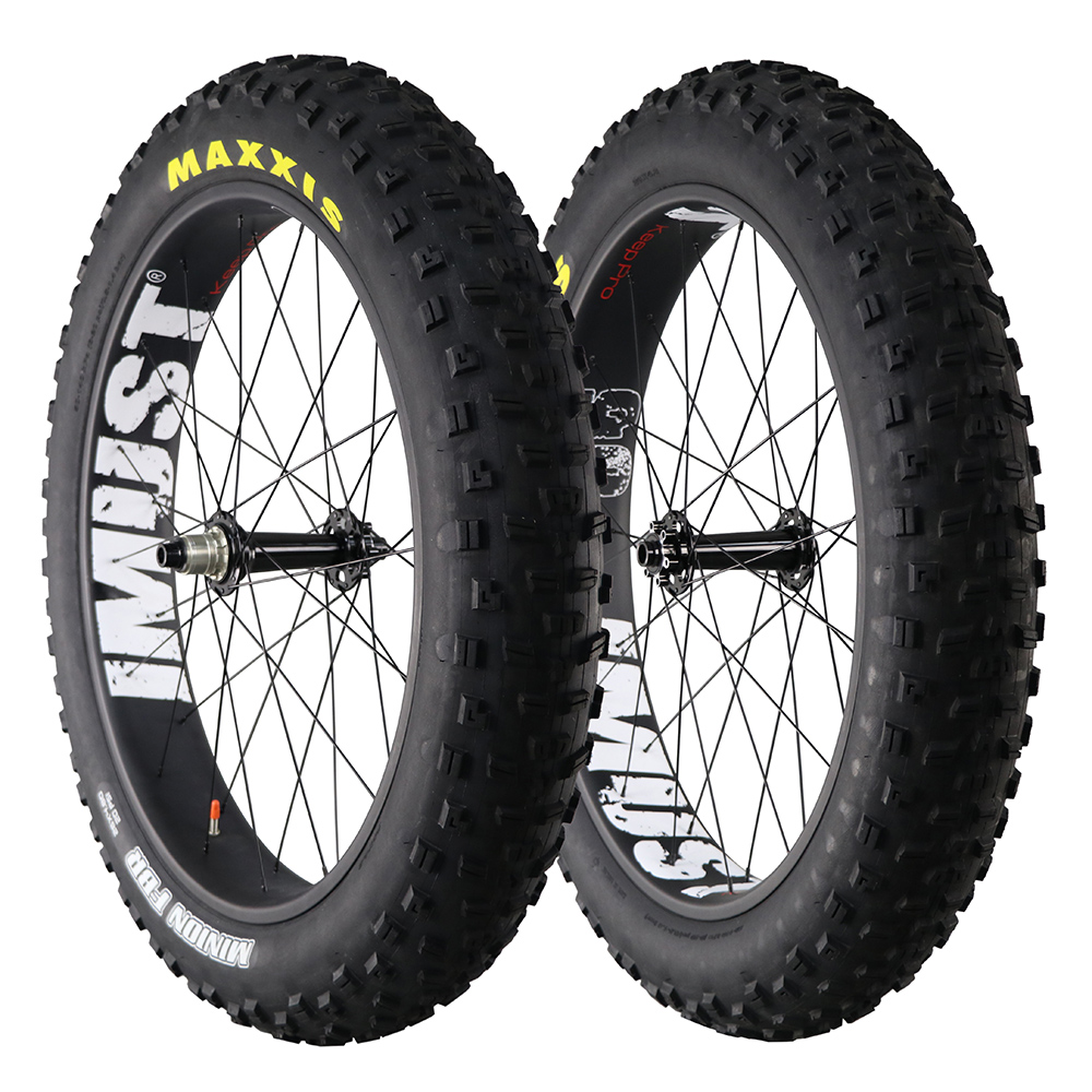 buy 690 t fatbike carbon wheels clincher tubuless 26 inch bike rim 90mm width. Black Bedroom Furniture Sets. Home Design Ideas