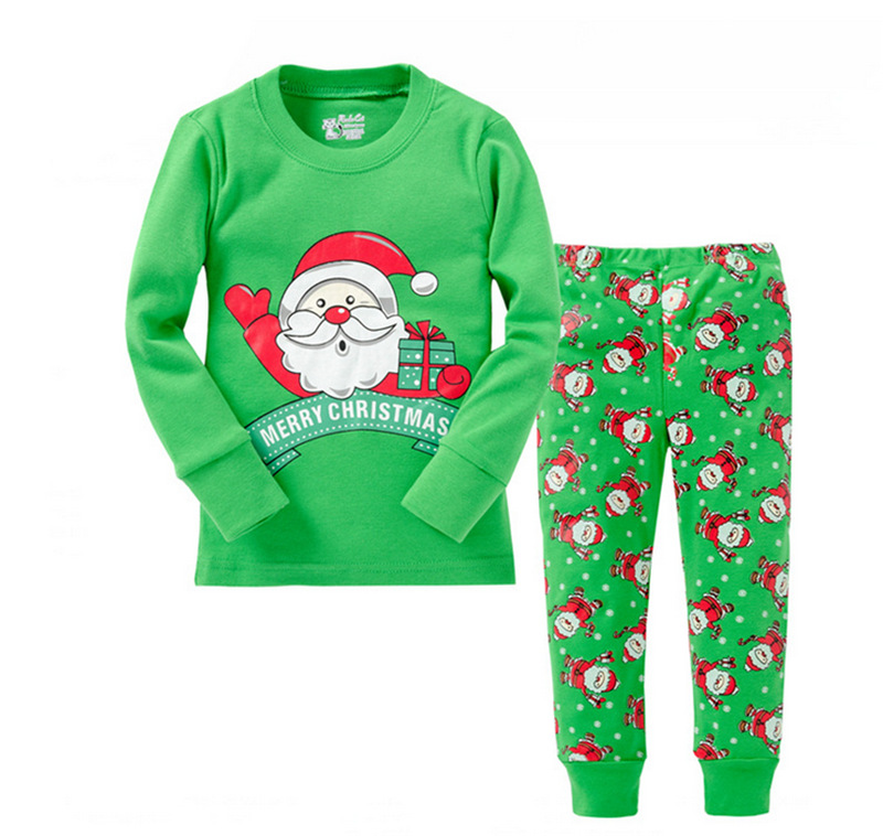 High Quality Cartoon Kids Pajama Set Children Sleepwear Boys Nightwear Girls Family Christmas Pajamas Toddler Baby Pyjamas