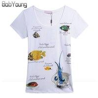 Hot Sale Women Tops Billfish SeaWorld Handmade T Shirt Women Tops Tees Short Sleeve T Shirt